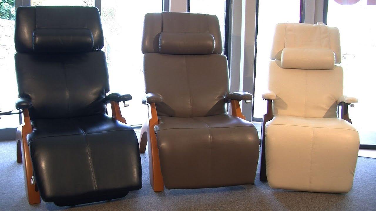 The Perfect Chair Zero Gravity Ergonomic Recliner  YouTube