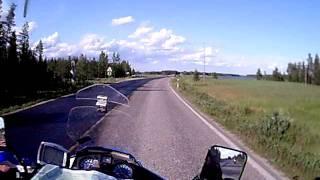 Motorrad in Lappland Finnland (16)