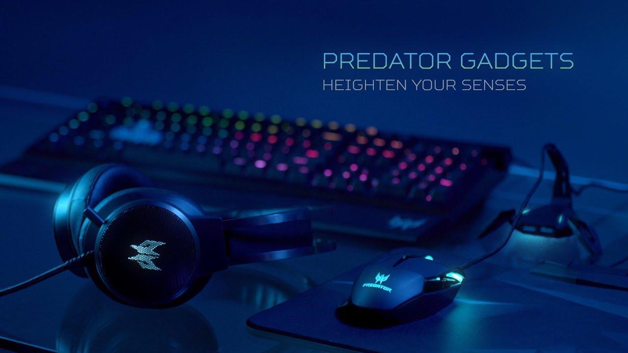 Acer | Predator Gaming Hardware – Heighten Your Senses
