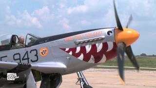 Fully Restored P-51D Mustang Test Flight