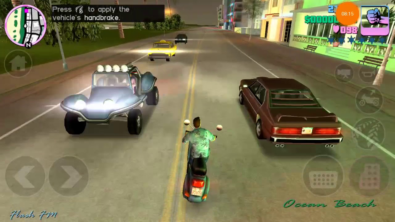 GTA Vice City Android - Gameplay #1