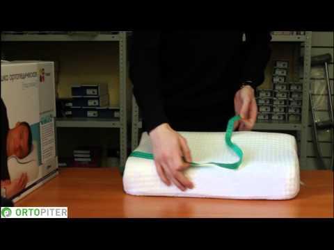 Ортопедические подушки для новорожденных и детей