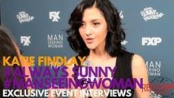 Katie Findlay at the FXX Premiere for Man Seeking Woman Season 3