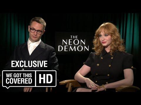 Exclusive Interview: Nicolas Winding Refn and Christina Hendricks Talk The Neon Demon