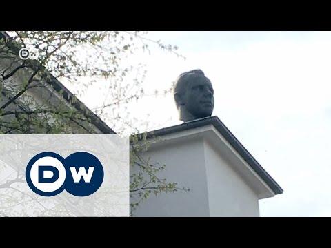 Самый необычный памятник Гагарину в Германии