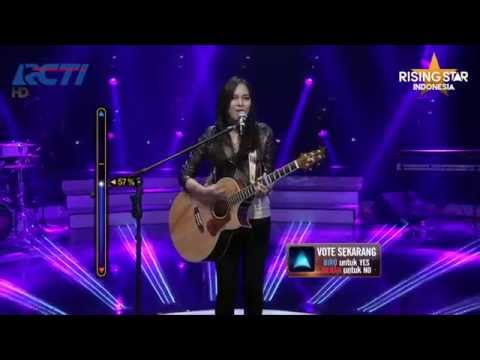 "Ghaitsa Kenang ""Dear No One"" Tory Kelly - Rising Star Indonesia Live Audition Eps. 8"