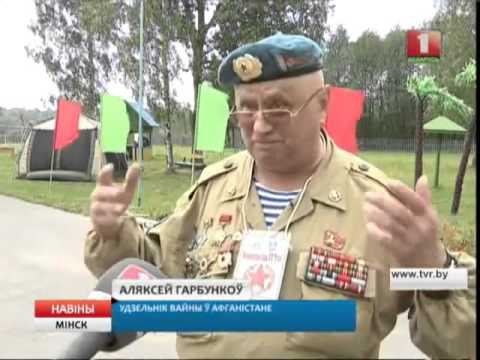 В Крупском военно-патриотическом лагере Рубеж началась новая смена