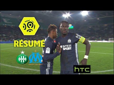 AS Saint-Etienne – Olympique de Marseille (0-0)  – Résumé – (ASSE – OM) / 2016-17