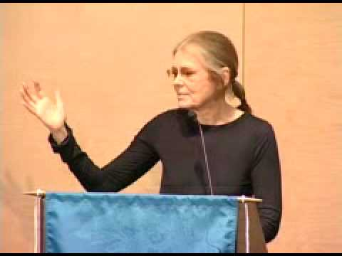 Gloria Steinem Speaks at Tulane