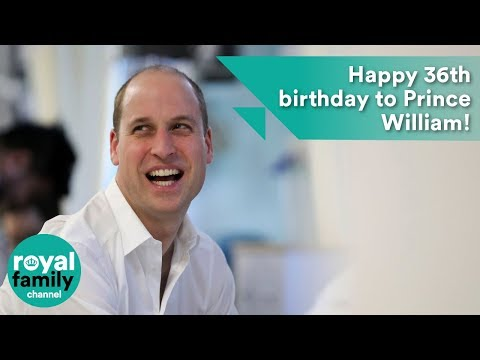 Happy 36th birthday to Prince William!