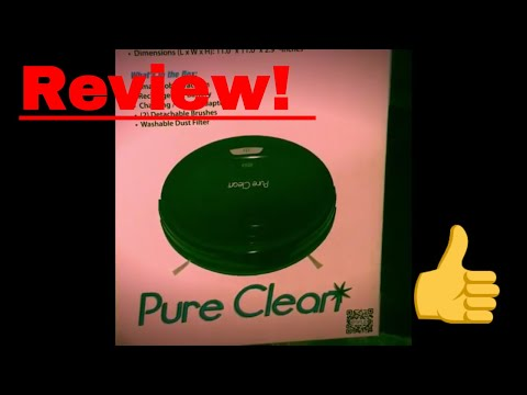 Pure Clean iRobot Review!