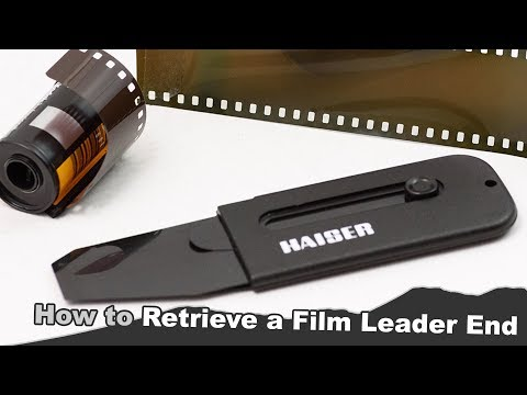 How to easily retrieve a film leader in 3 different ways