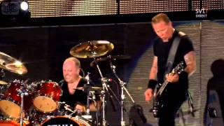 Metallica - Ride the Lightning (Live, Gothenburg July 3. 2011) [HD]