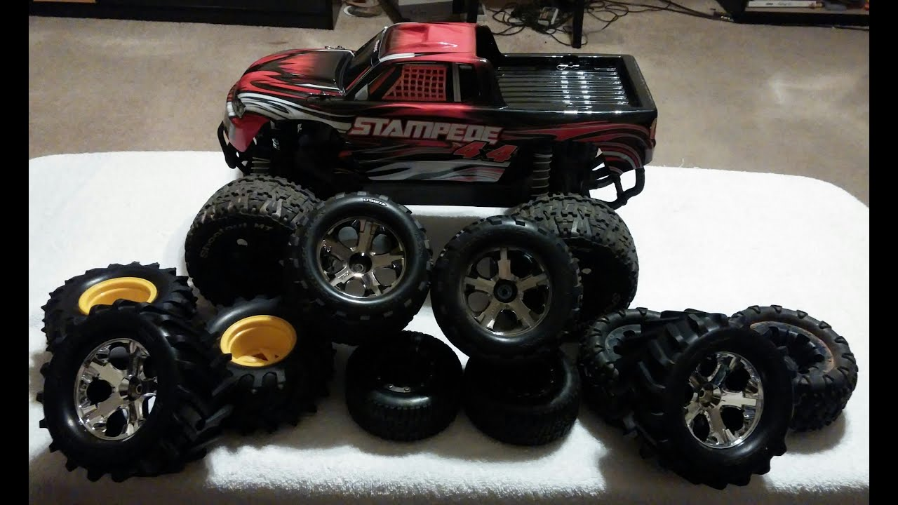 Traxxas Stampede 4x4 tire options