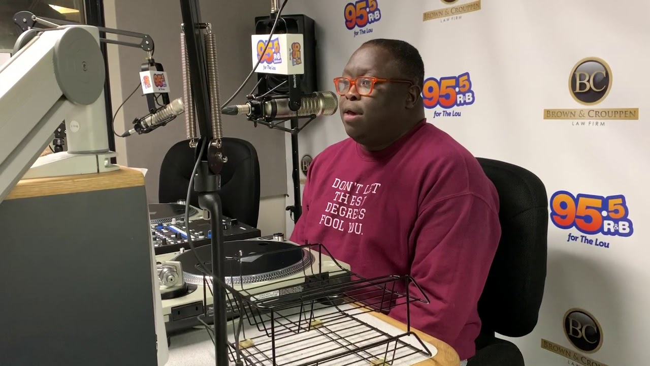 Jermar Perry Joins 95.5 The Lou for Relationship Thursday