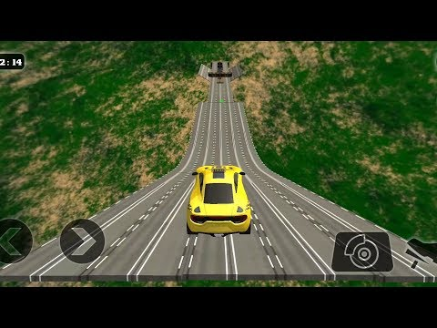 impossible-stunt-car-tracks-3d-taxi-edition-all-levels-3-stars---android-gameplay-2019