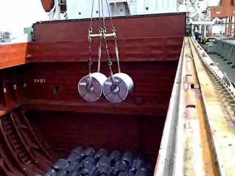 Unloading Activity of PT Daisy Kalimaya Samudra