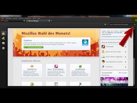 YouTube Videos Downloaden Mit Firefox Add-on