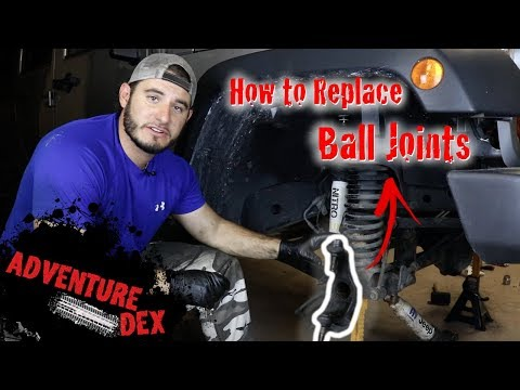 How to replace Jeep JK Ball Joints – Synergy Ball Joints – FULL TUTORIAL