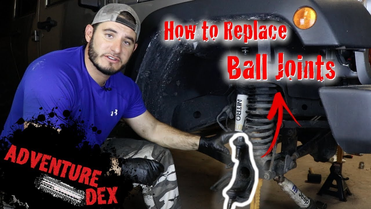 How to replace Jeep JK Ball Joints - Synergy Ball Joints - FULL TUTORIAL
