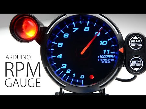 DIY ARDUINO RPM TACHO SIM HUB DASH