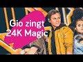 Gio toont z'n beste dansmoves op 24K Magic