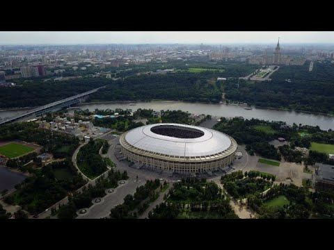 Football/WC-18: Moscow stadiums from above