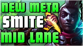 WHY ARE PROS TAKING SMITE MID? New Meta Guide Patch 8.10: Smite Mid - League of Legends