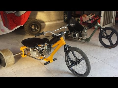 Motorised Drift Trike with lifan 110cc (build no.2)
