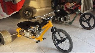 Motorised Drift Trike with lifan 110cc (build no.2)