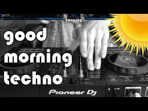 a good morning techno mix in a bathrobe at 135 BPM