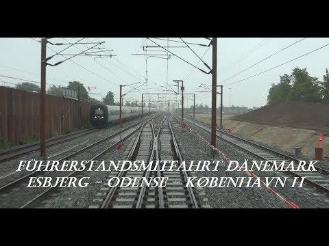 Führerstandsmitfahrt Dänemark: Esbjerg - København H mit IC820