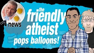 The Friendly Atheist Pops Ken Ham's Balloons (feat. Hemant Mehta) - (Ken) Ham & AiG News