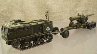 模型 M4高速牽引車 + M1 155mm榴弾砲 1/72