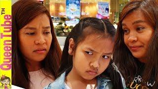 มามี้แอน มีฝาแฝด??!! น้องควีน เจอคนหน้าเหมือนมามี้แอน   I saw My Mom's Twin??!!   QueenTubeTH ✔︎