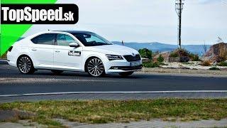 TopSpeed.sk test: Škoda Superb III L&K 2.0 TDI (190 k)