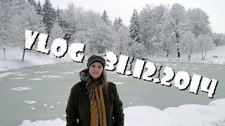Зима в Австрии (VLOG 31.12.2014)(Зимняя прогулка перед Новым Годом в Австрии (Земля Зальцбург) - ссылка на видео