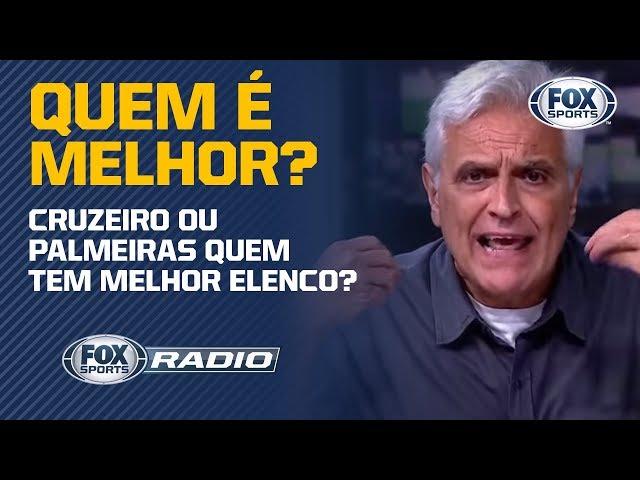 CRUZEIRO TEM MAIS ELENCO QUE O PALMEIRAS?