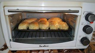 Пирожки с творогом. Рецепт. Электрический духовой шкаф Tesler. Отзыв. Цена