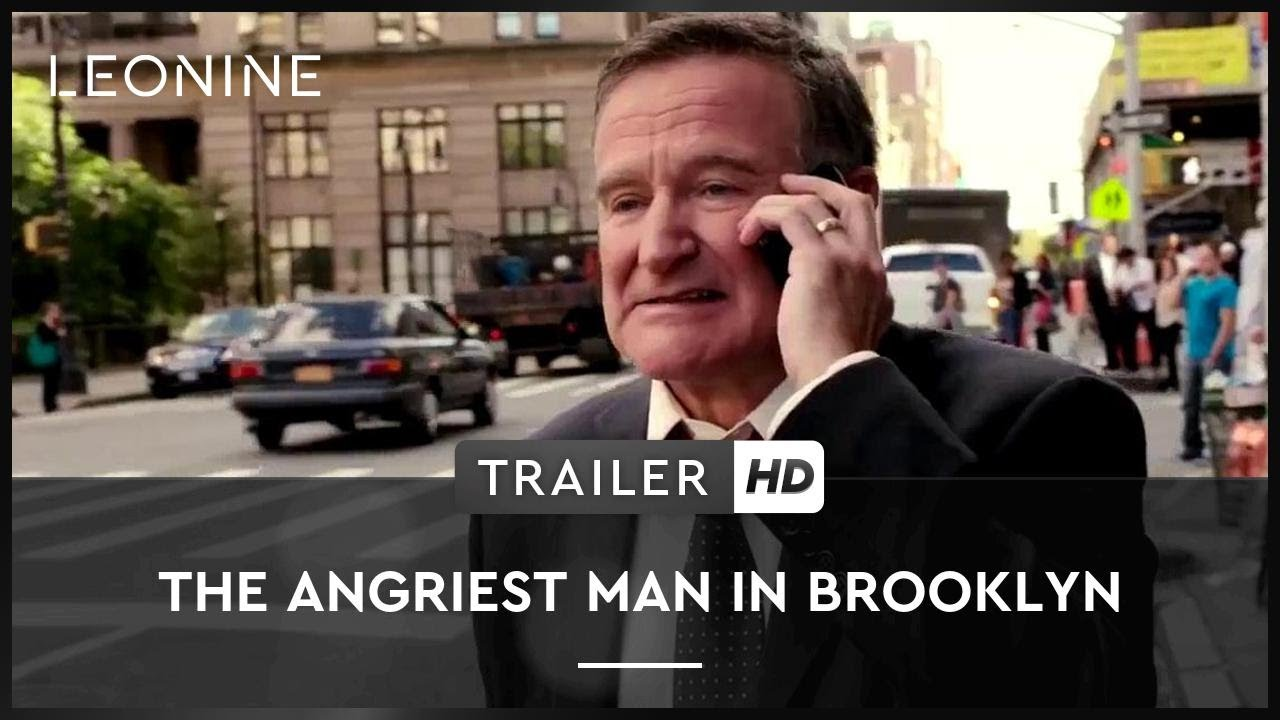 The Angriest Man in Brooklyn - Trailer (deutsch/german)