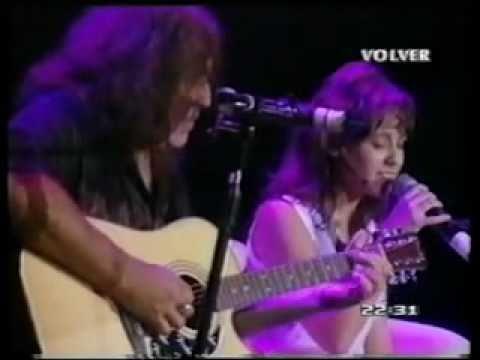 """Daniela Herrero & Pappo, """"Juntos a la par"""" (Vivo - Gran Rex 2004) Volver."""