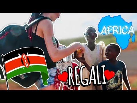 Kenya #10: REGALI ai BAMBINI poveri che troviamo per le strade.