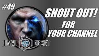 Shout out for your channel #49: Hard Reset gameplay! (PC gameplay-commentary)