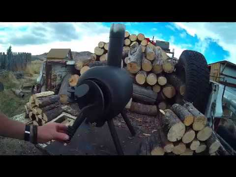 Propane Tank Wood Stove