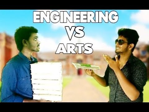 Engineering Vs Arts | Kirukku Mates