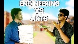 Engineering Vs Arts | Kirukku Mates