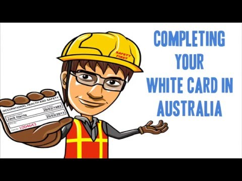 White Card Australia: Everything You Need To Know