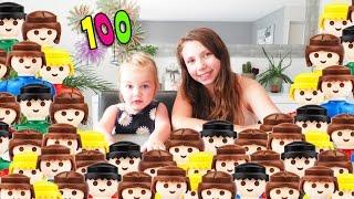 100 Playmobil pour célebrer la 100ème vidéo de la chaine !!! thumbnail