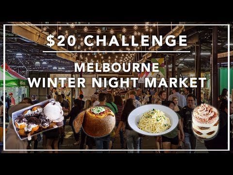 TOP DROOLING FOOD AT WINTER NIGHT MARKET #BELLYREVIEW