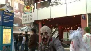 Denver Zombies Invade Diego's On The 16th St Mall Crawl 2011